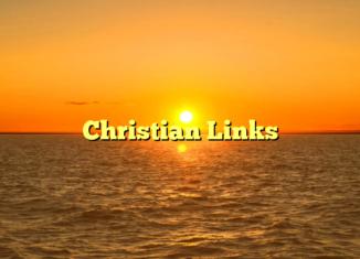 Christian Links