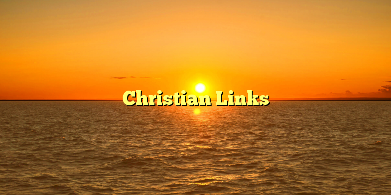 Christian Links